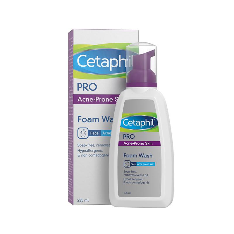 Cetaphil Pro 3D Pack Shot 235ml Combo Foam Wash